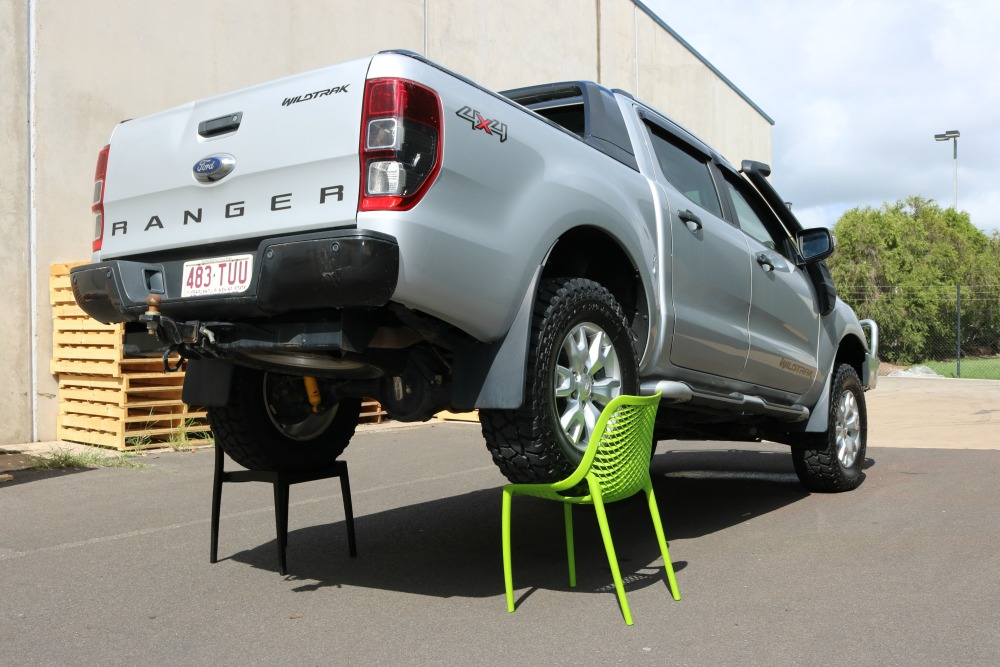Air Chair Ford Ranger Strength Test