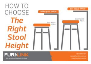 Furnlink - How to Choose the Right Stool Height