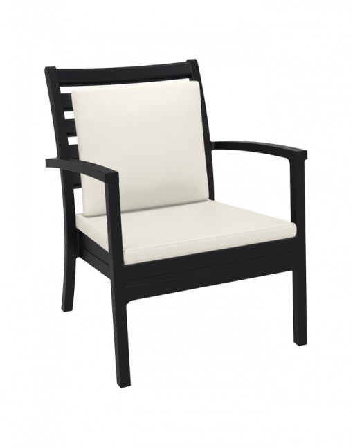 001 Artemis Xl Backrest C Beige Black Front Sides A8b0