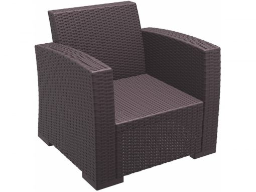 004 Ml Armchair Brown Front Side3rotbq