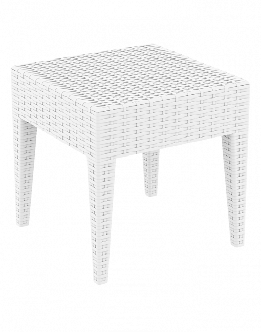 005 Ml Side Table White Front Sides C6s1