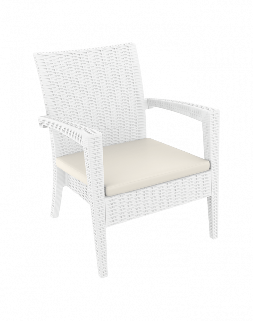 019 Ml Armchair Cushion White Front Sidek715mj
