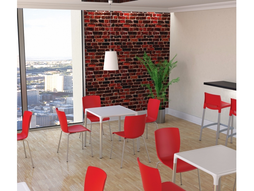 Mio Chairs and Mango Aluminium Table
