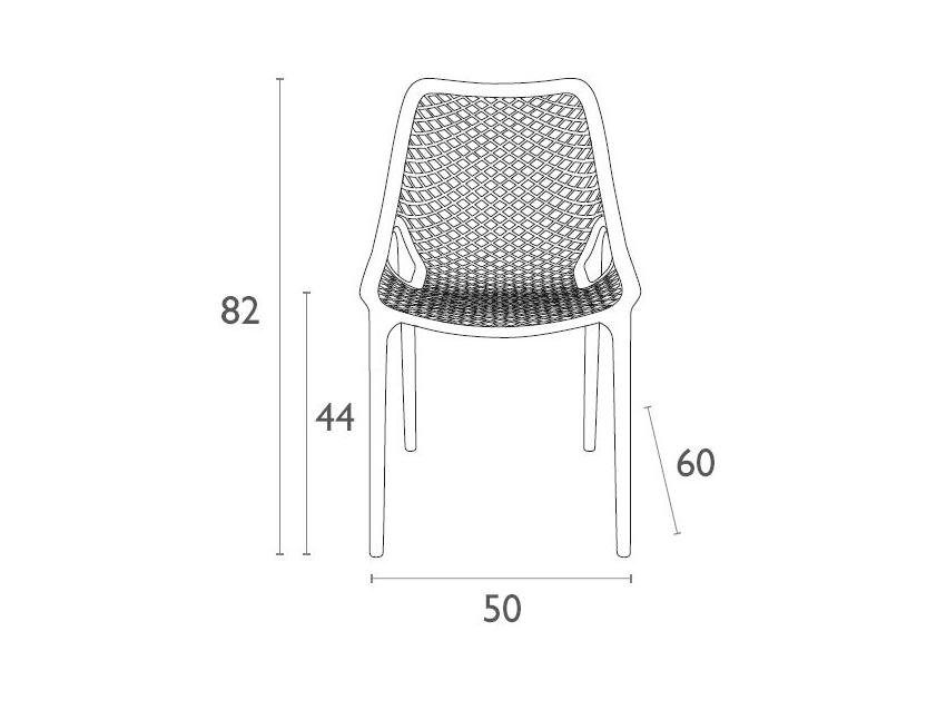 Air Chair Dimensionscpn75a