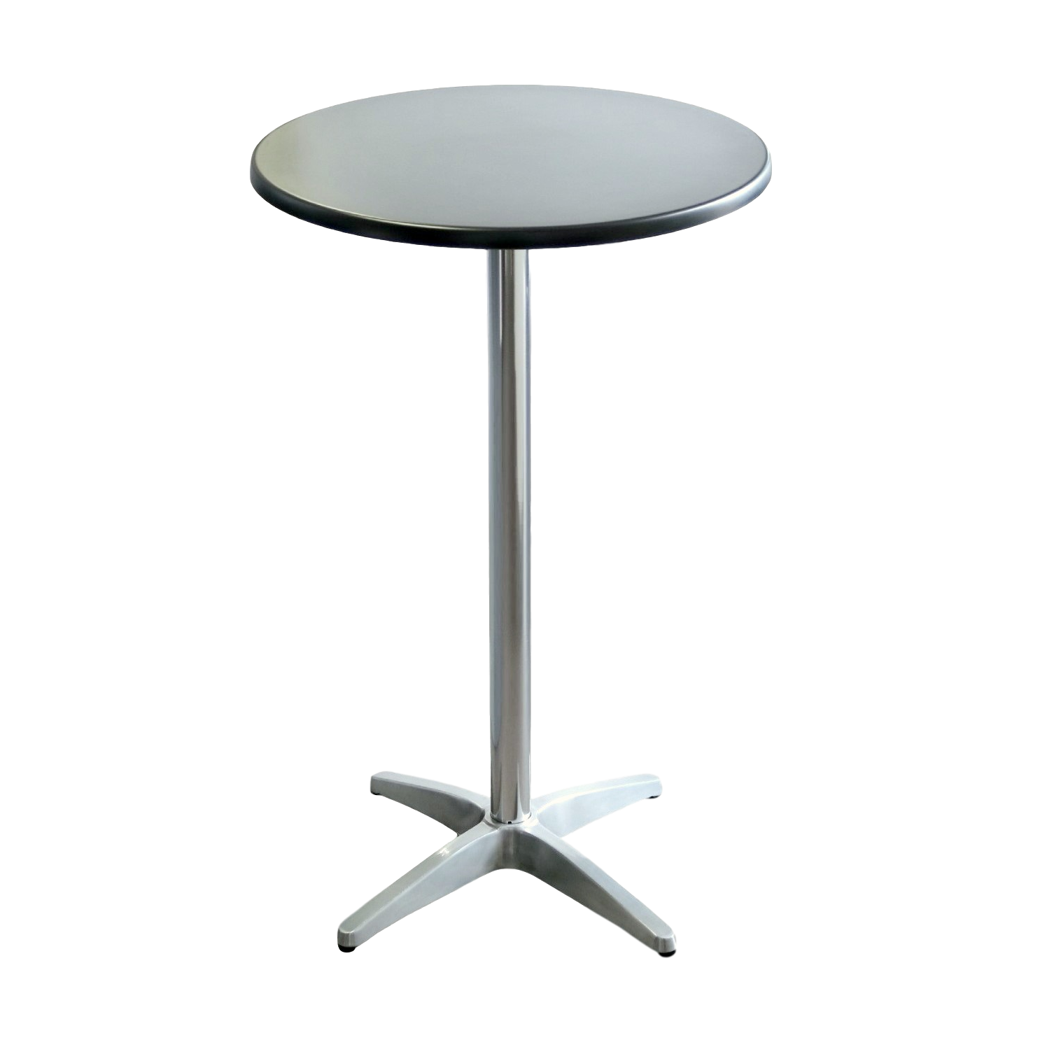 Astoria Aluminium Bar Height Table Base Round Table