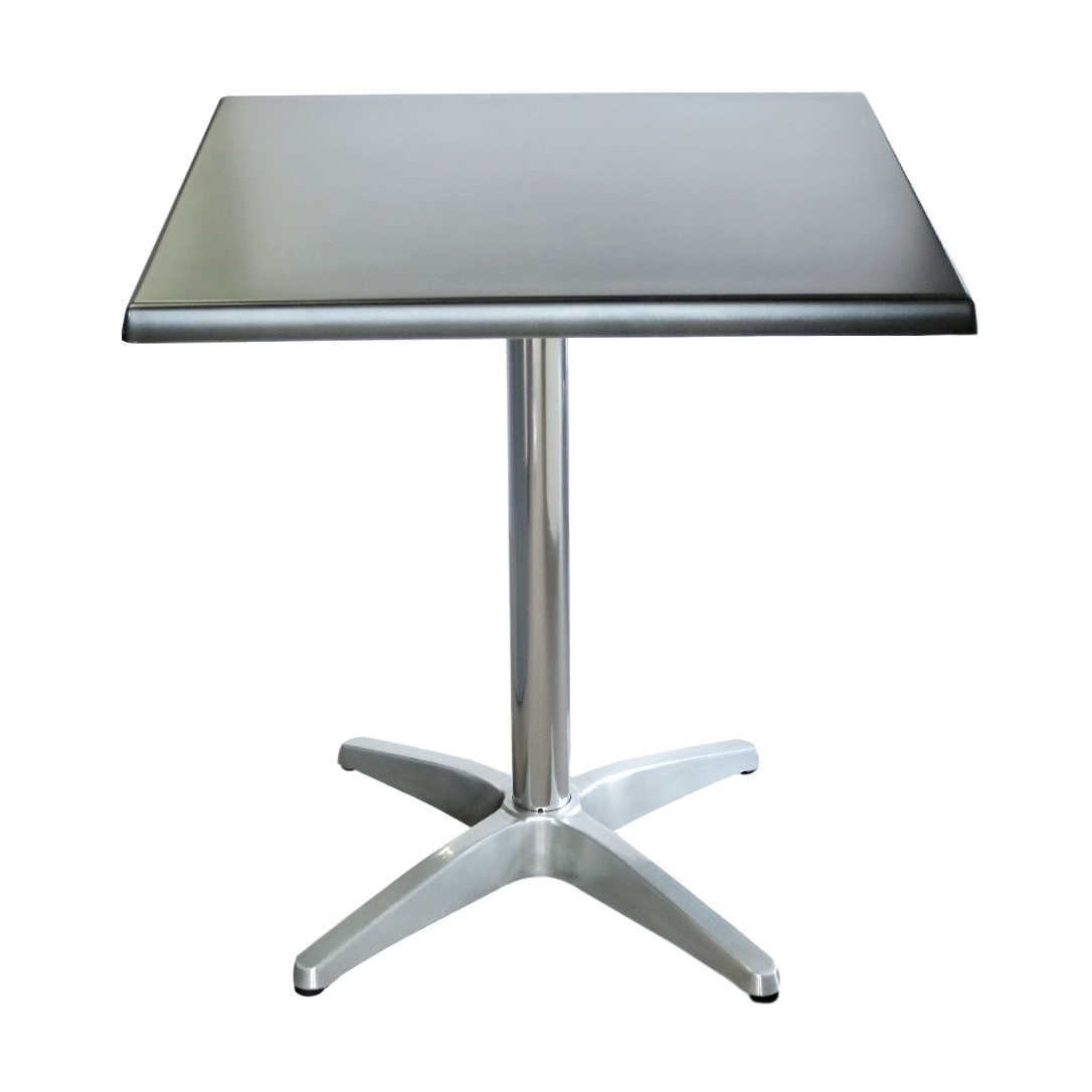 Astoria Aluminium Table Base Square Table