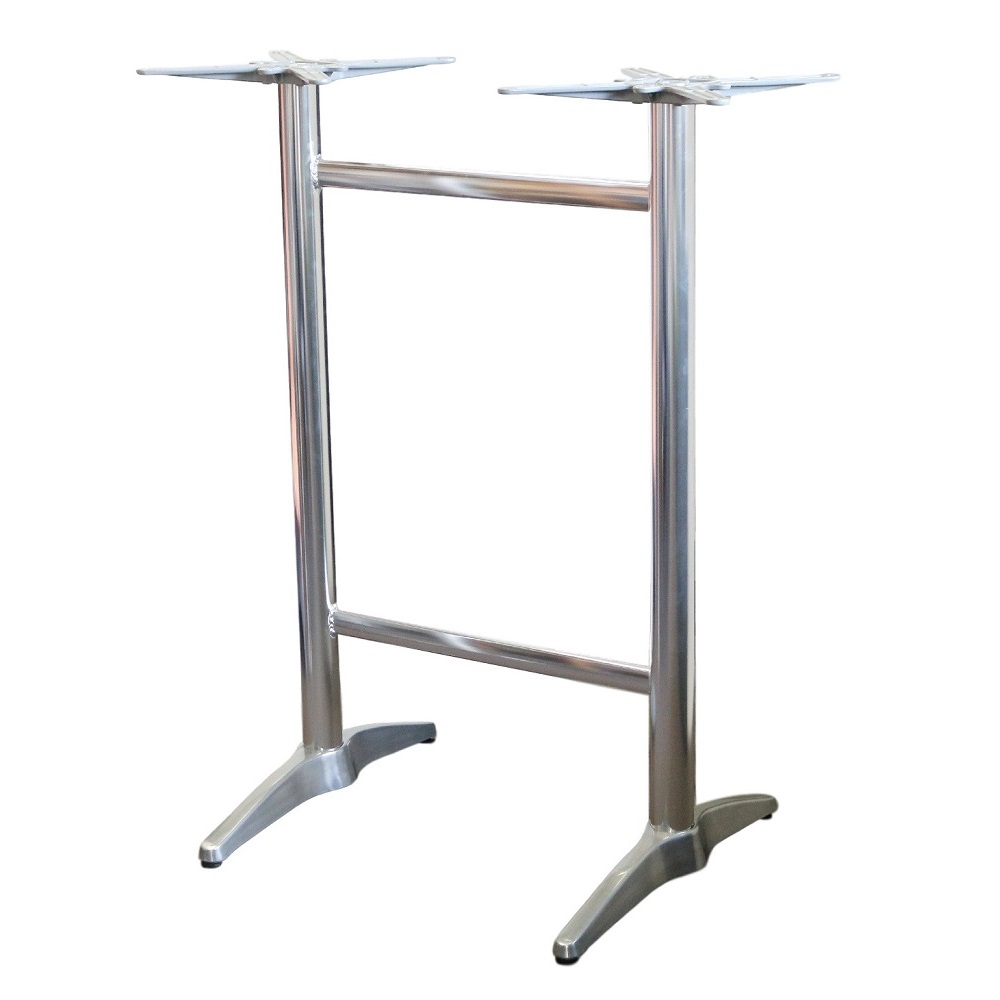 Astoria Aluminium Twin Bar Table Base