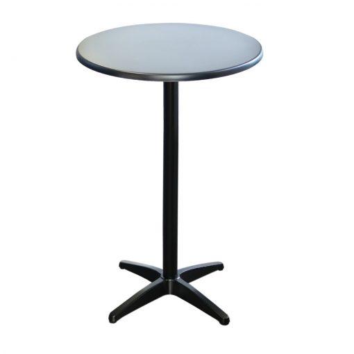Astoria Black Bar Table Round