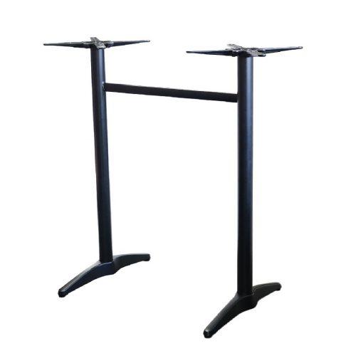 Astoria Black Bar Twin Table Base