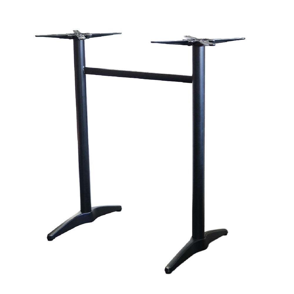 Astoria Black Bar Twin Table Base