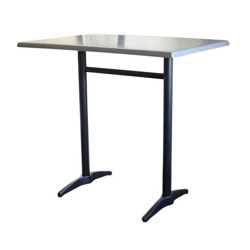 Astoria Black Twin Bar Table Rectangle