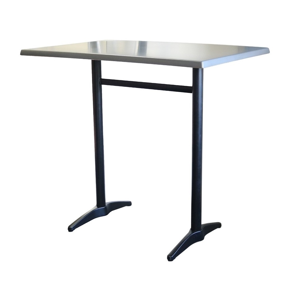 Astoria Black Twin Bar Table Rectangle