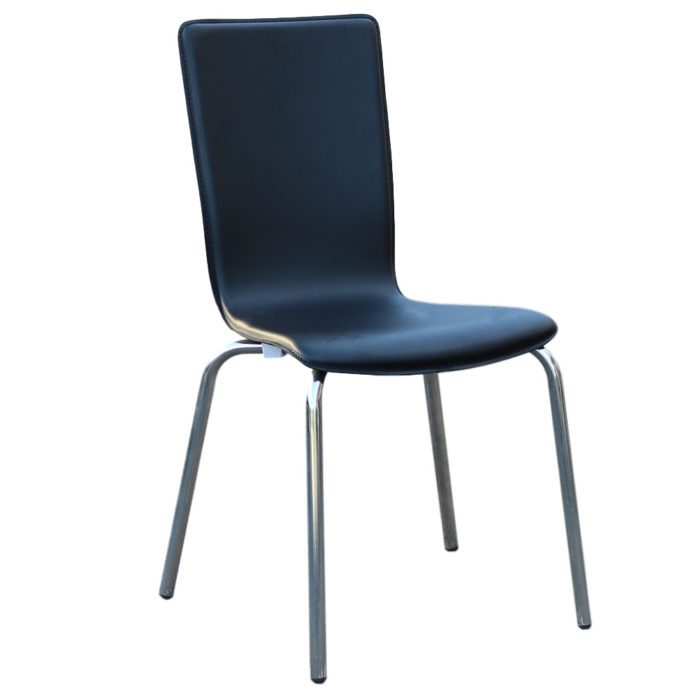 Avoca Chair Black Pvc
