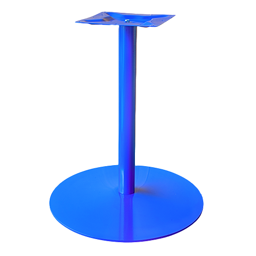 Coral Round Table Base Blue