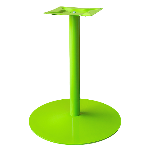 Coral Round Table Base Green