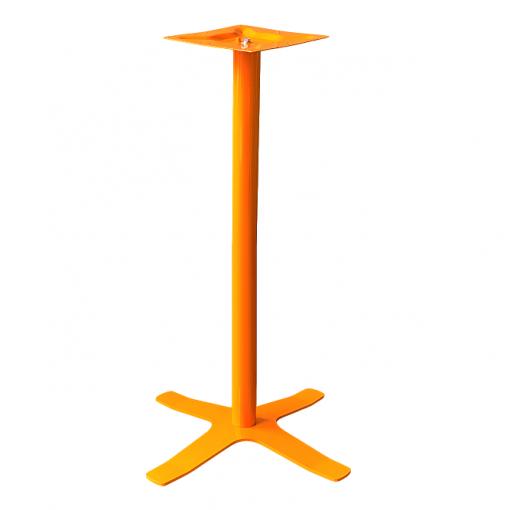 Coral Star Bar Table Base Orange