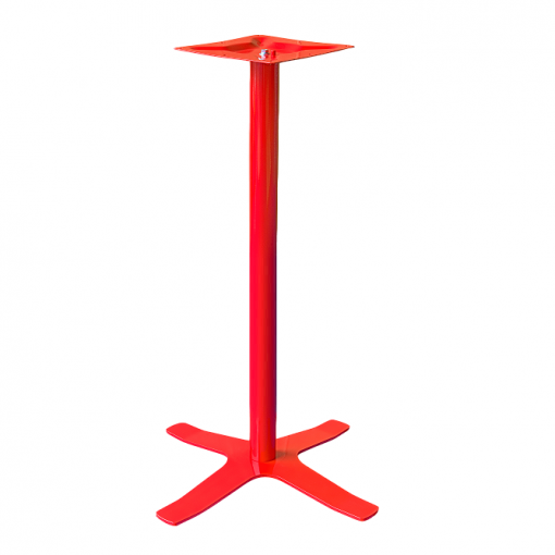 Coral Star Bar Table Base Red