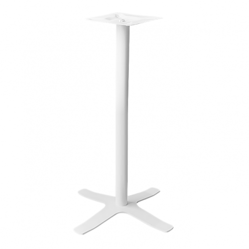 Coral Star Bar Table Base White