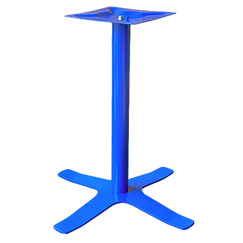 Coral Star Table Base Blue