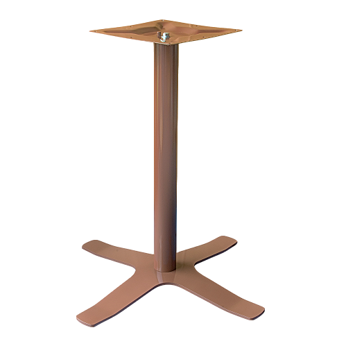 Coral Star Table Base Chocolate