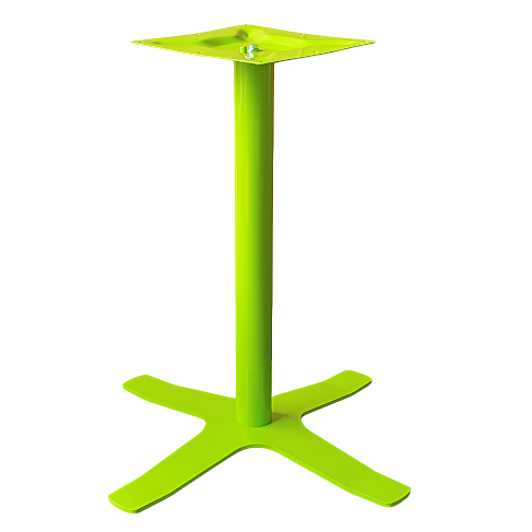 Coral Star Table Base Green