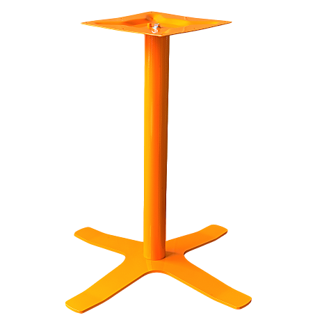 Coral Star Table Base Orange