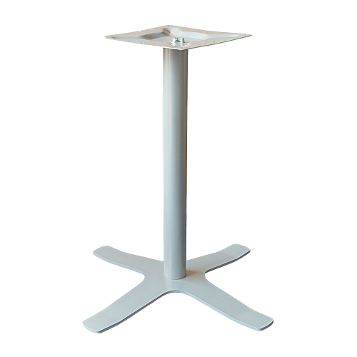 Coral Star Table Base Silver