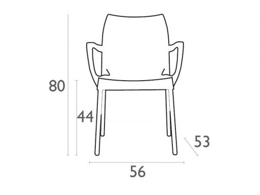 Dolce Armchair Dimensionsdjy5p