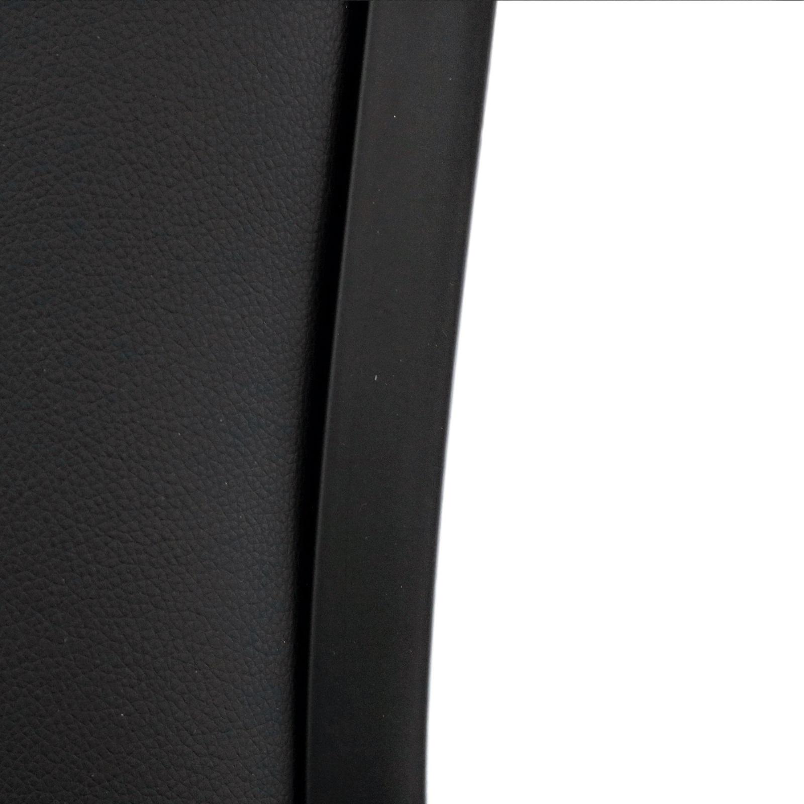 Function Chair Black Vinyl Black Frame