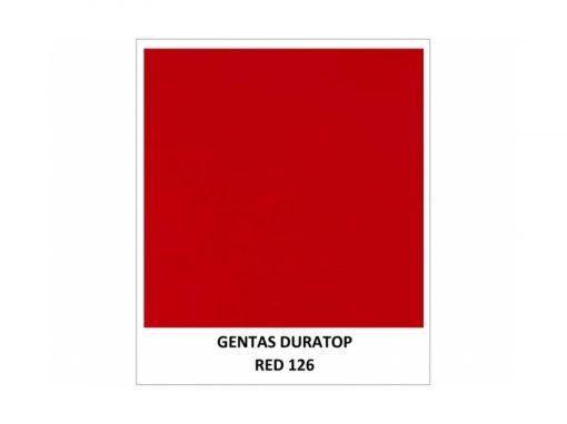 Gentas Duratop Red 126