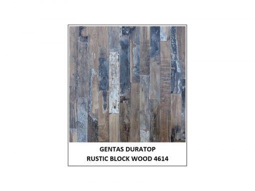 Gentas Duratop Rustic Block Wood 46148xlqfz