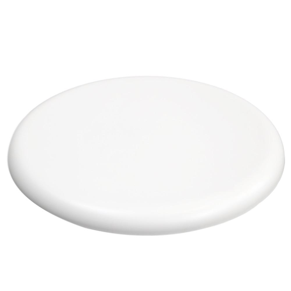 Gentas White Stool Top 340mm Diameter