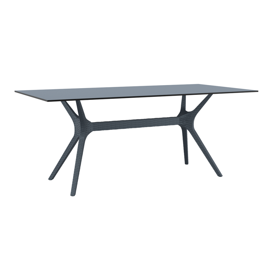 Ibiza Table Large 180 Anthracite