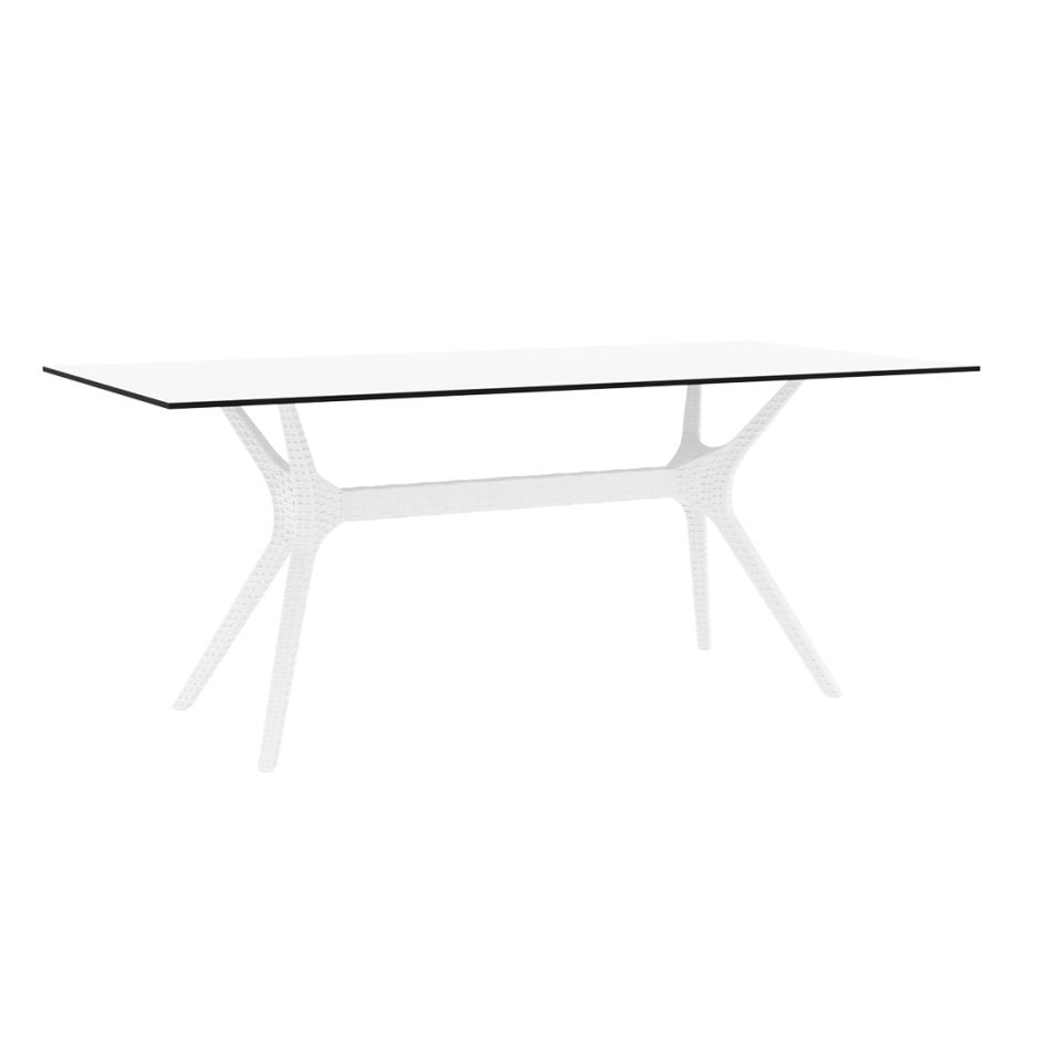 Ibiza Table Large 180 White