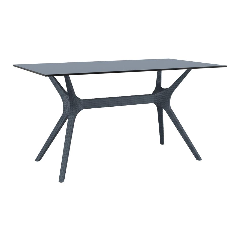 Ibiza Table Medium 140 Anthracite
