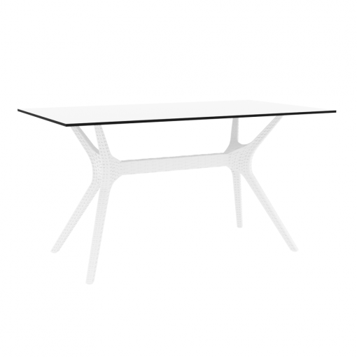 Ibiza Table Medium 140 White