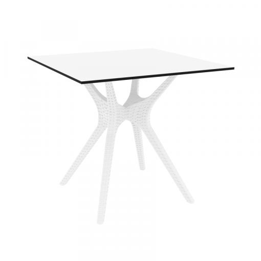 Ibiza Table Small 80 White