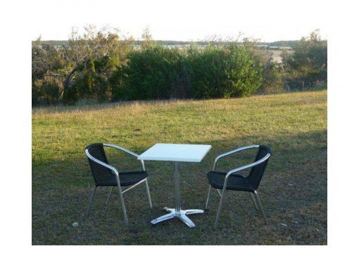 Lagoa Cafe Chairs Table Setting