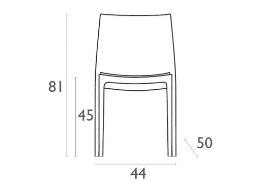 Maya Chair Dimensions4y2wve