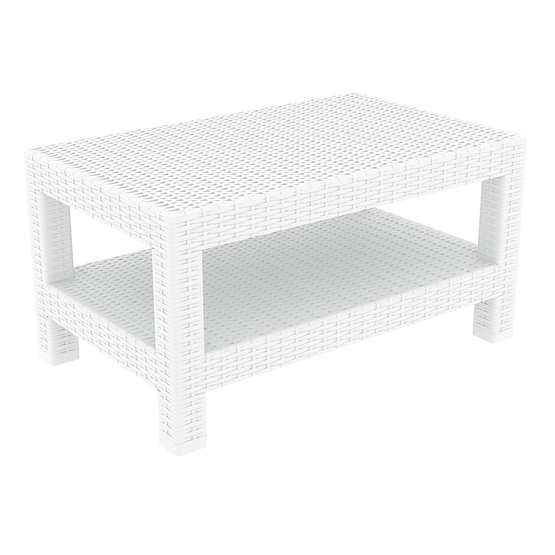 Monaco Lounge Table White