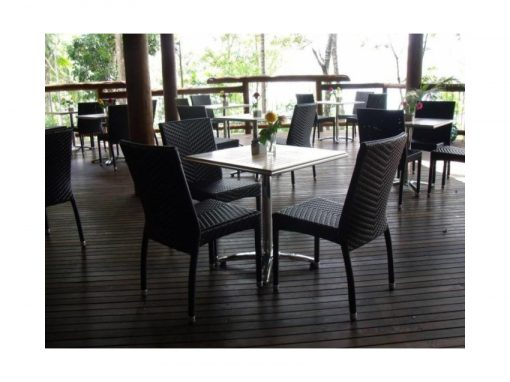 Restaurant Chairs Palm Wicker Chairs 001