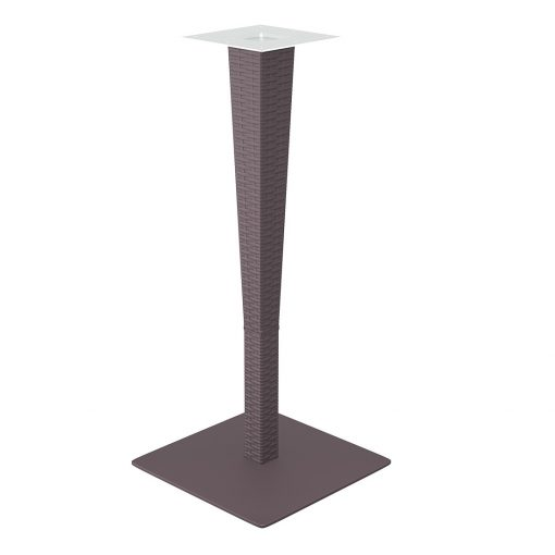 Riva Bar Table Base Chocolate