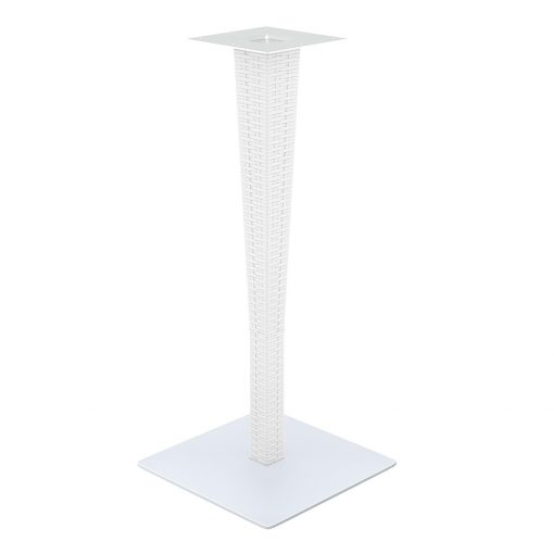 Riva Bar Table Base White