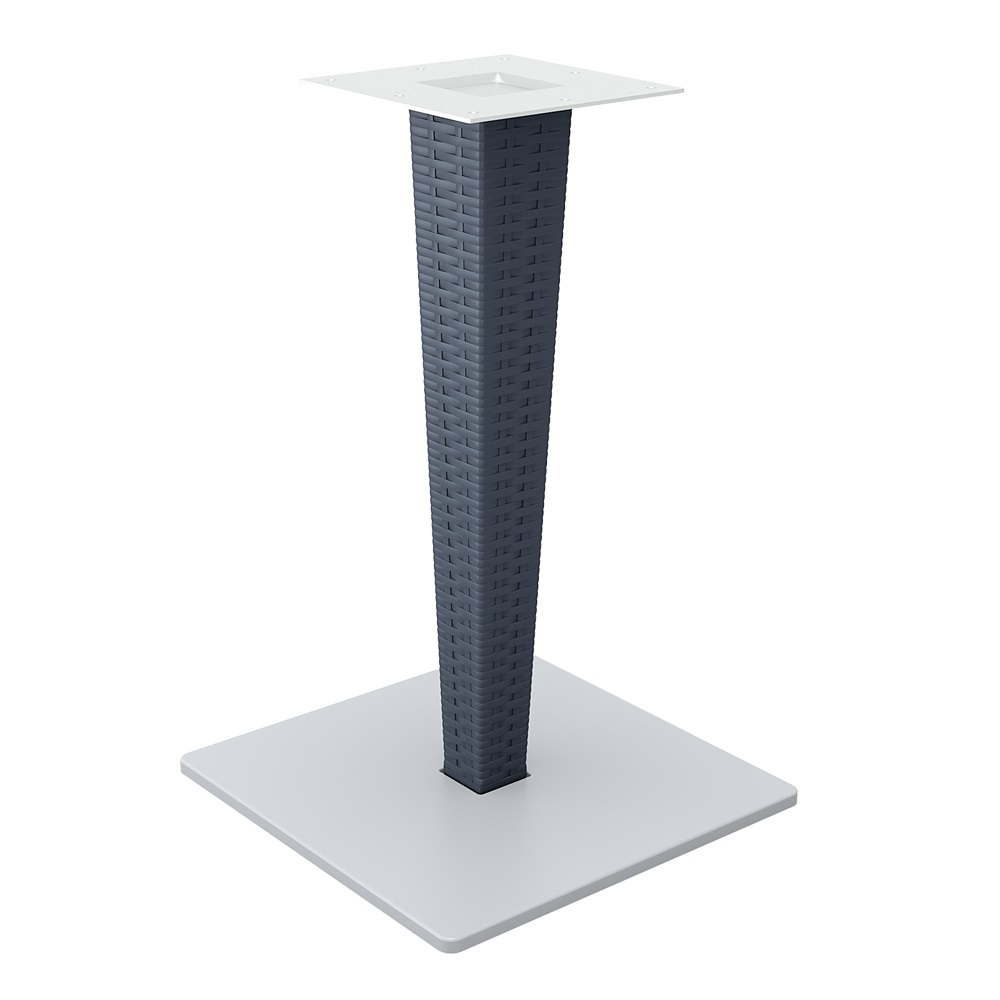 Riva Table Base Anthracite