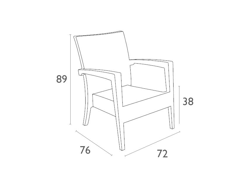 Tequila Lounge Armchair Dimensionsqzqgvo