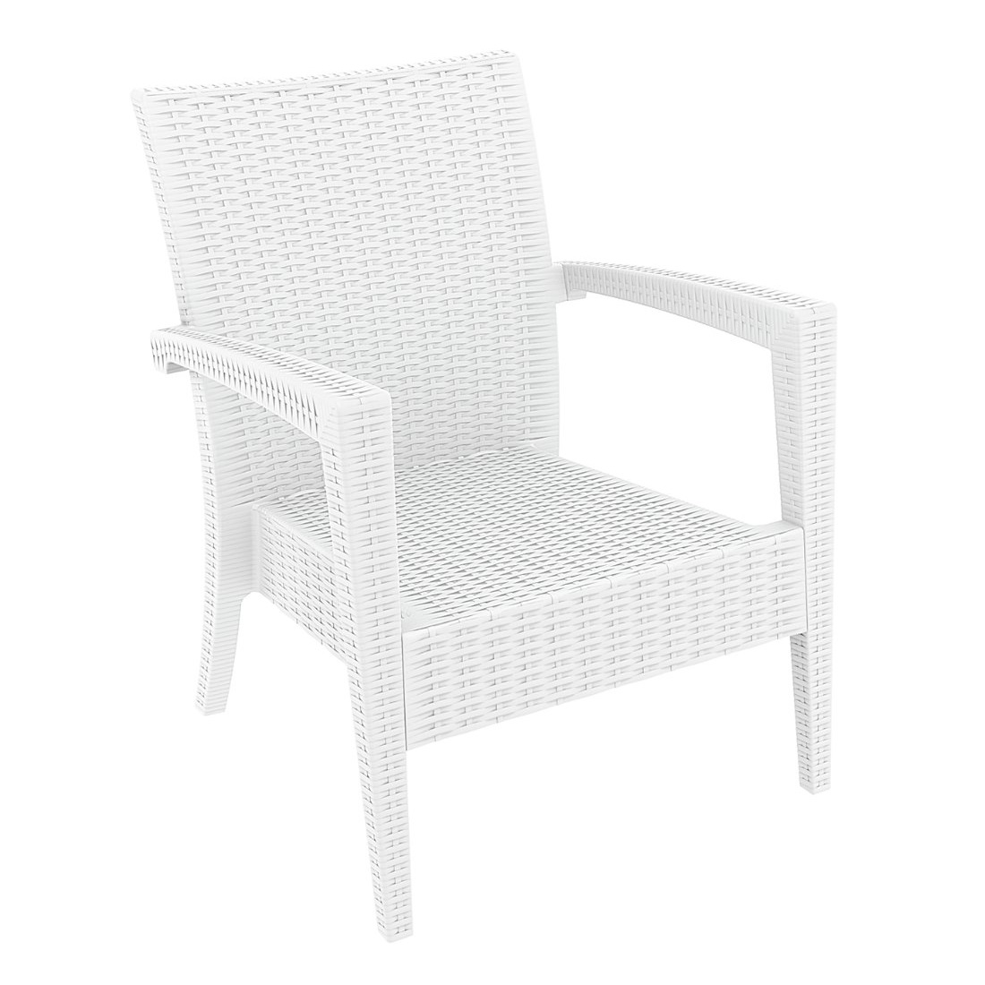 Tequila Lounge Armchair White