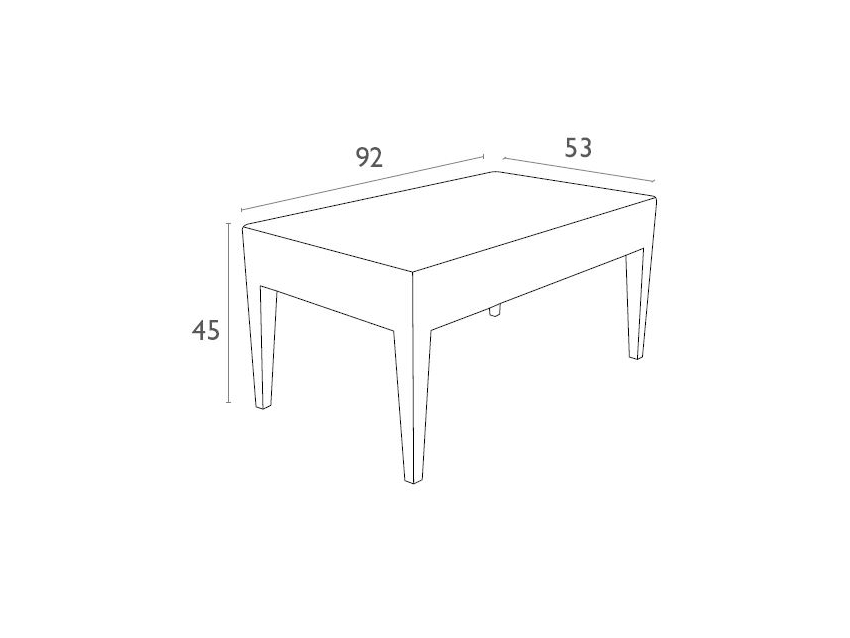 Tequila Lounge Table Dimensions5v7 4h