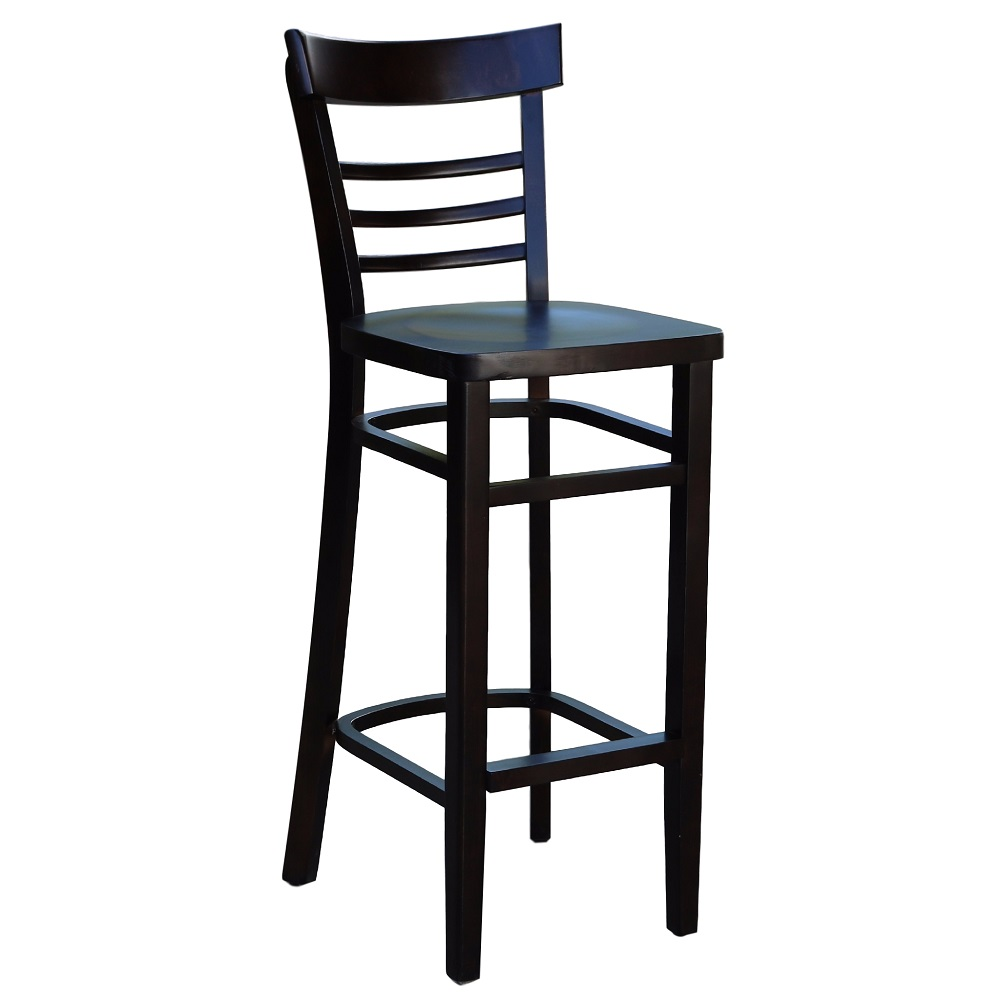 Vienna Barstool Timber Chocolate Brown Stain