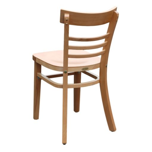 Vienna Chair Timber Natural Stain Back