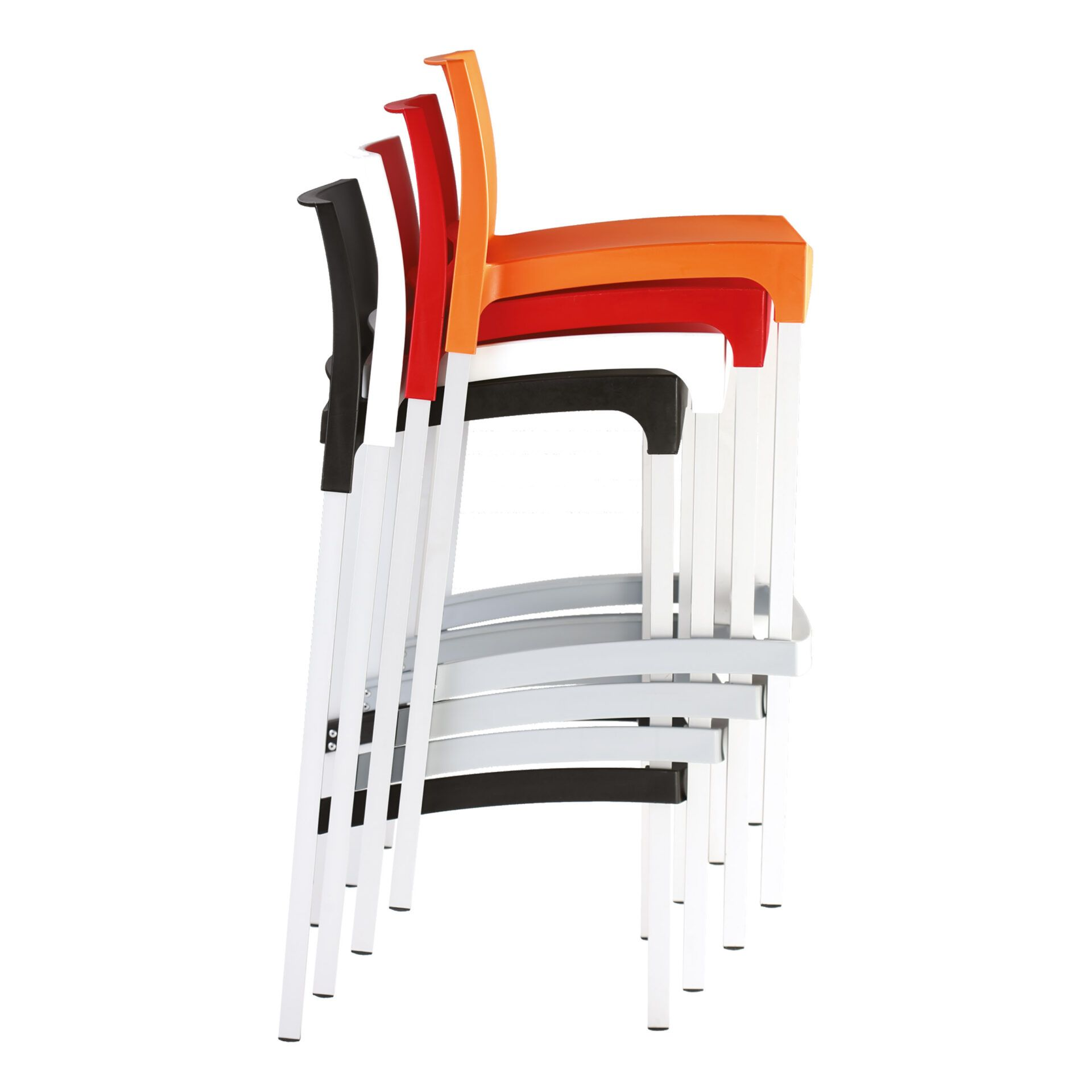 commercial plastic gio barstool stack 01